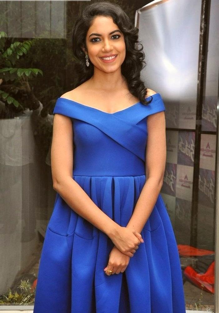 Ritu varma blue dress journal image