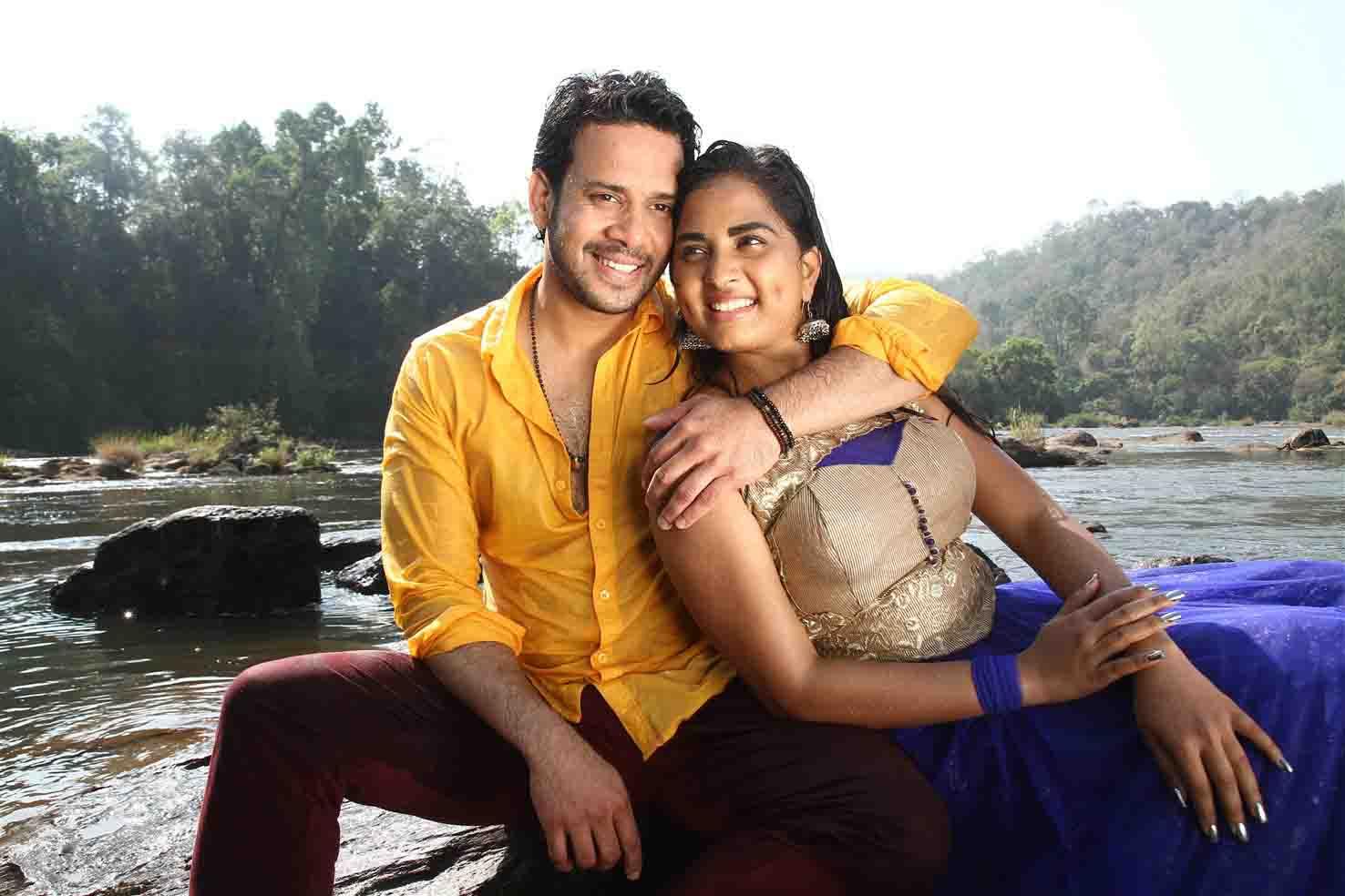 Srushti dange bharath in pottu film