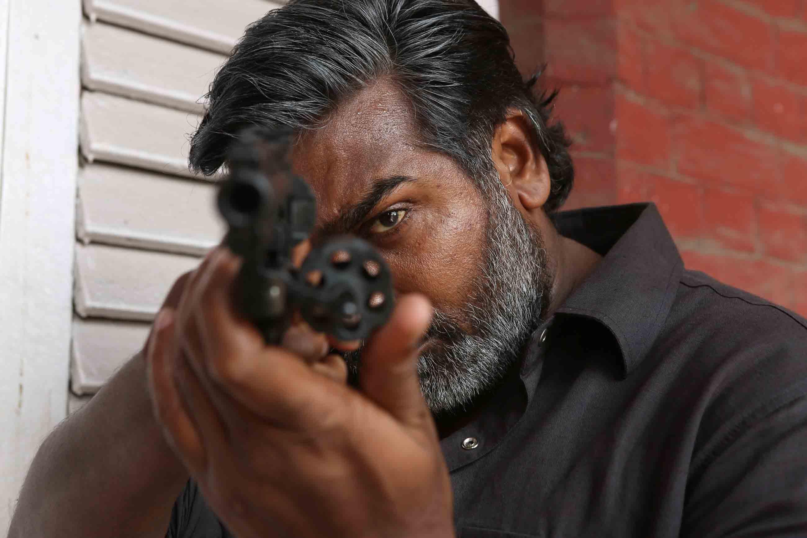 Vijay sethupathi in vikram vedha film
