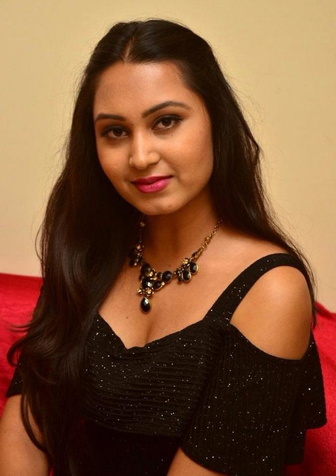 Amulya black dress desktop pictures