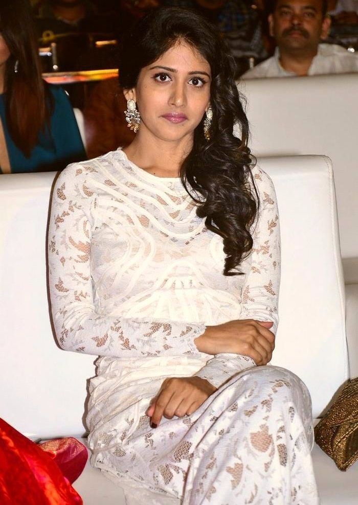 Chandini chowdary white dress desktop pictures