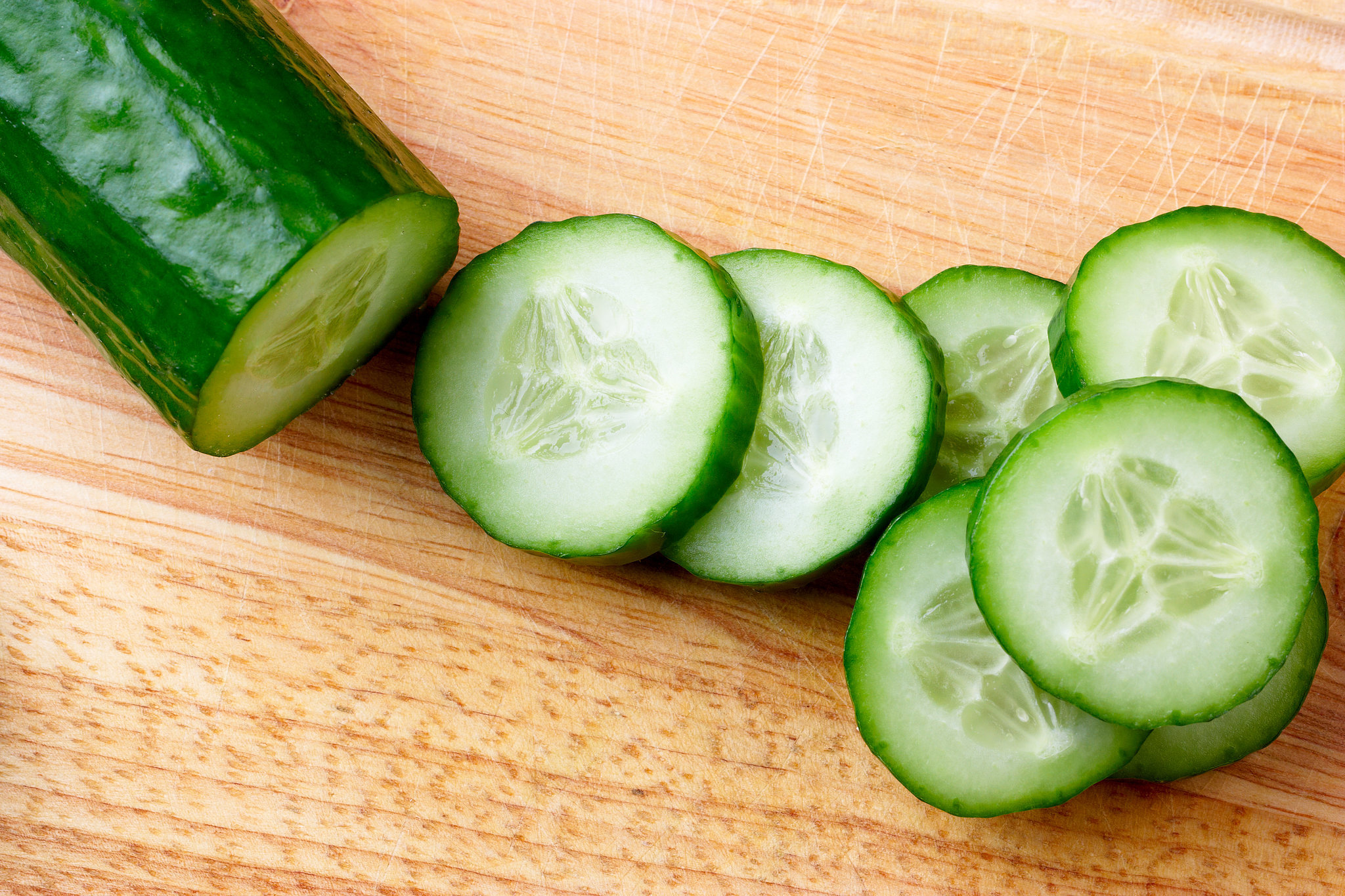 Cucumber open fruit photos