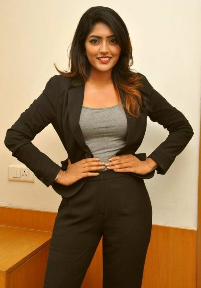 Eesha rebba black dress figure photos
