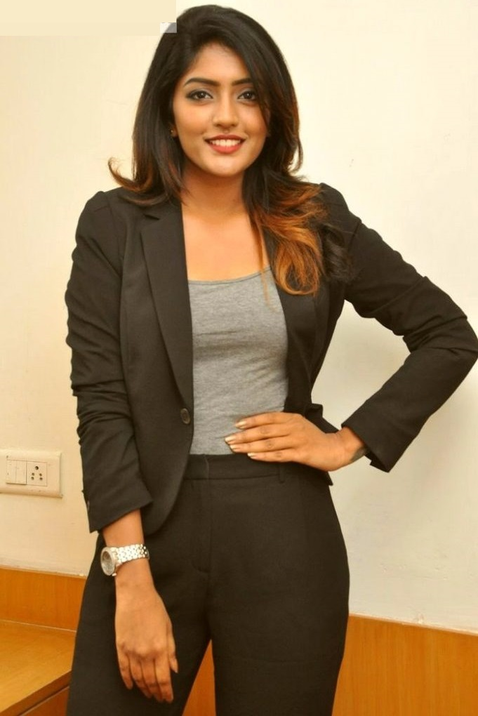 Eesha rebba black dress hd image