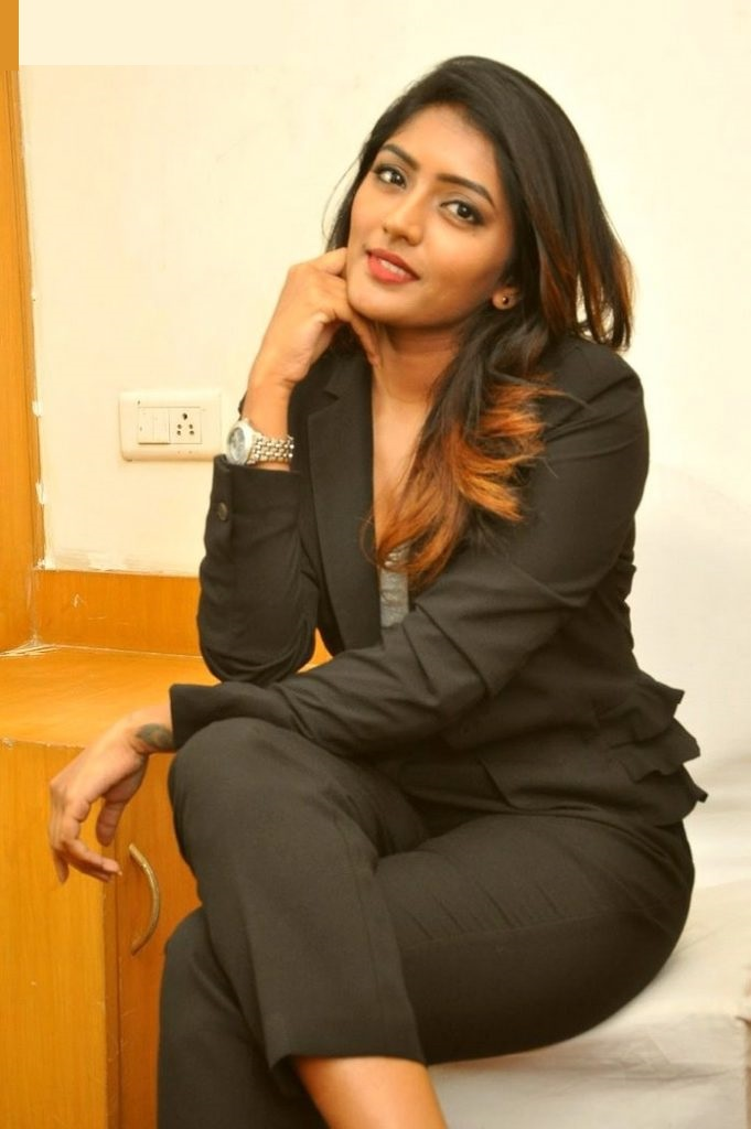 Eesha rebba black dress unseen stills