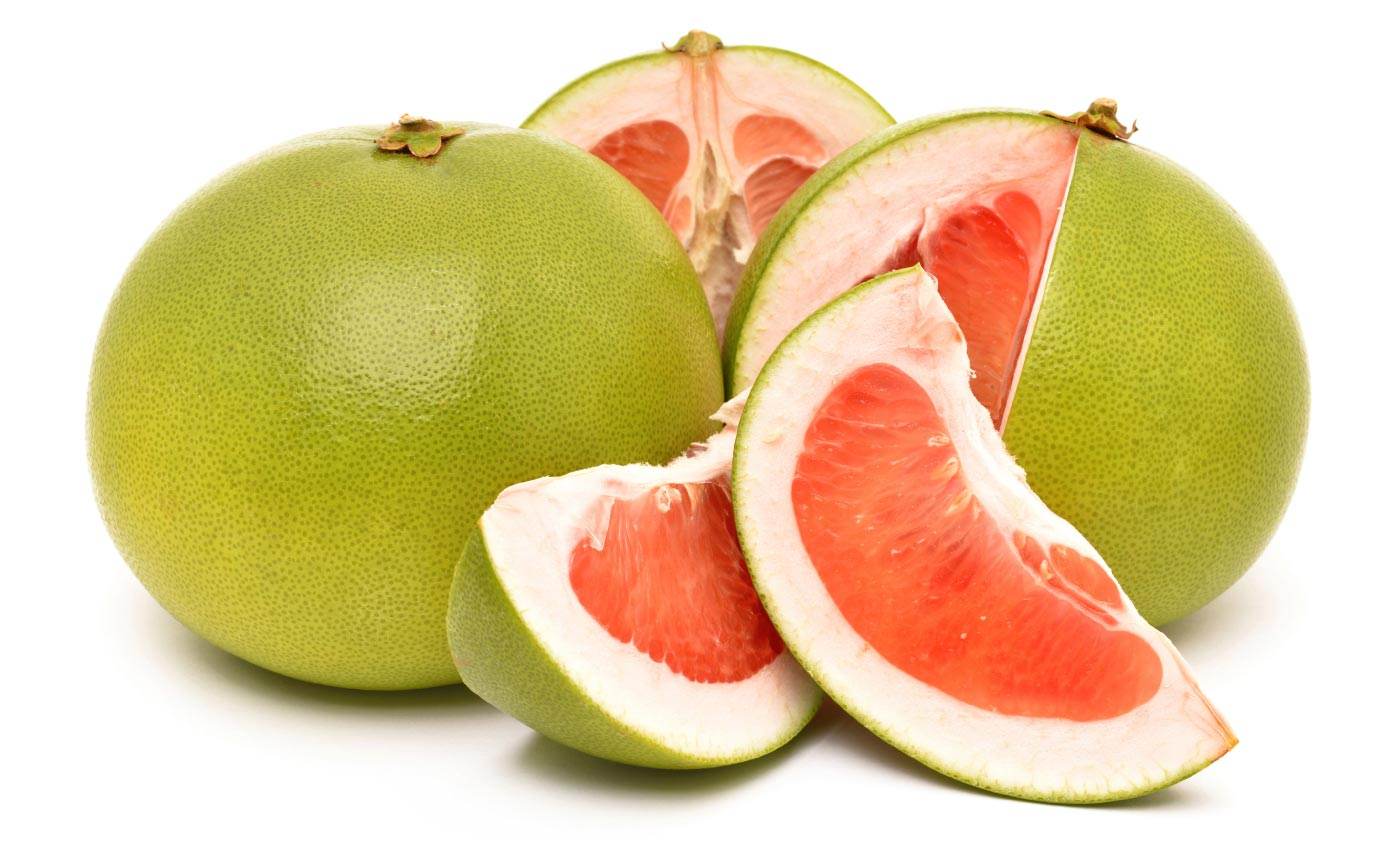 Green grapefruits photos