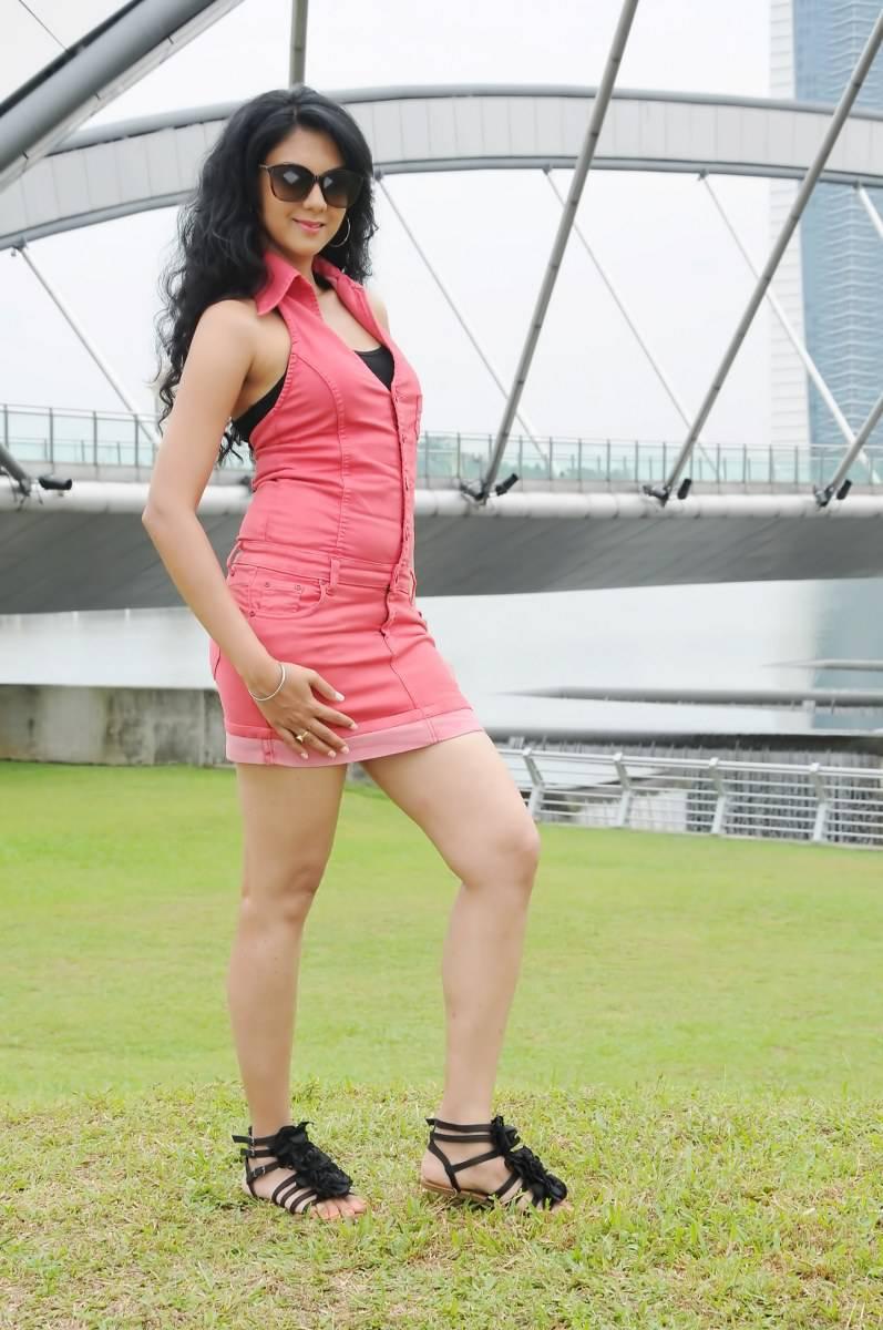 Kamna jethmalani pink dress gallery
