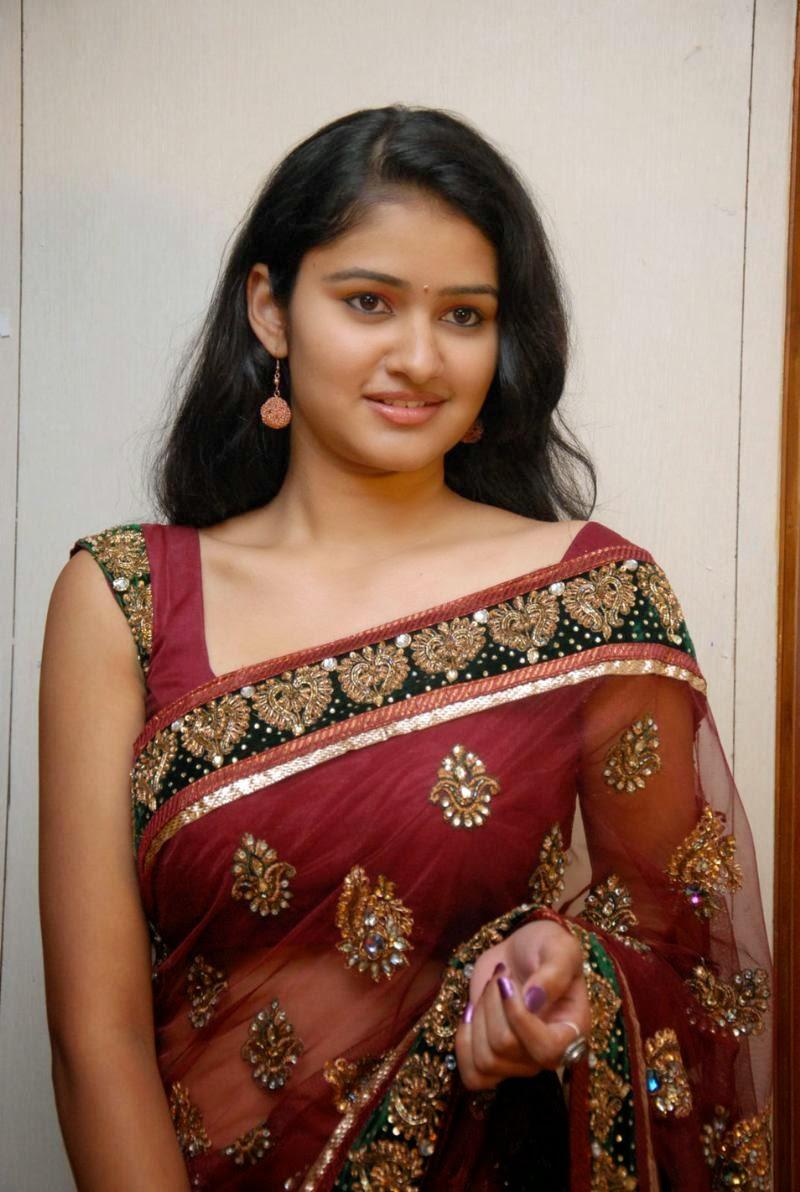 Kausalya saree face photos