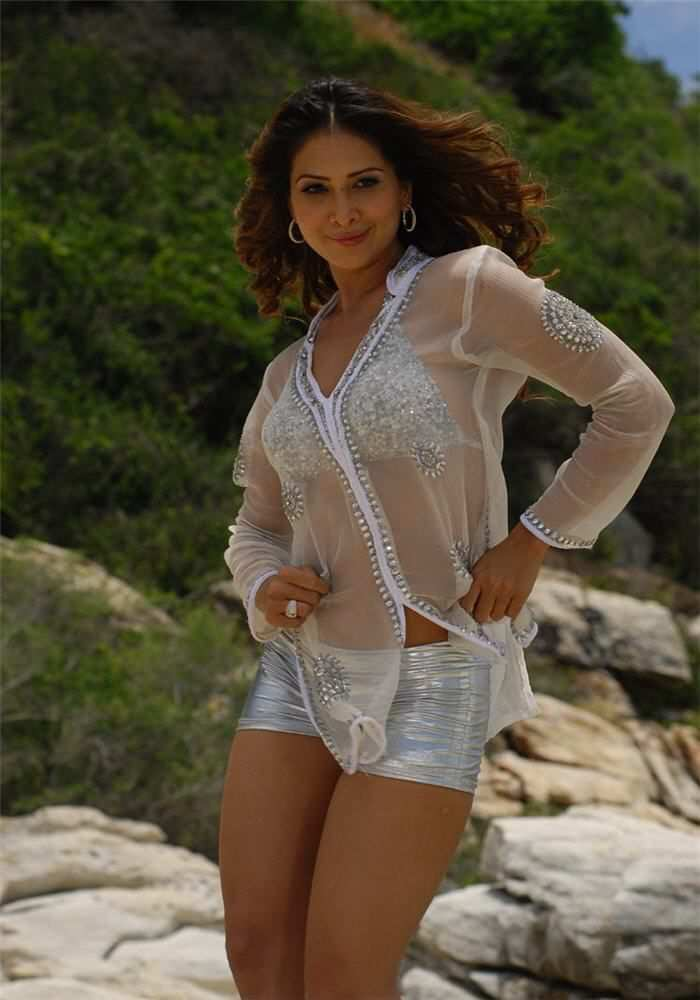 Kim sharma white dress photos