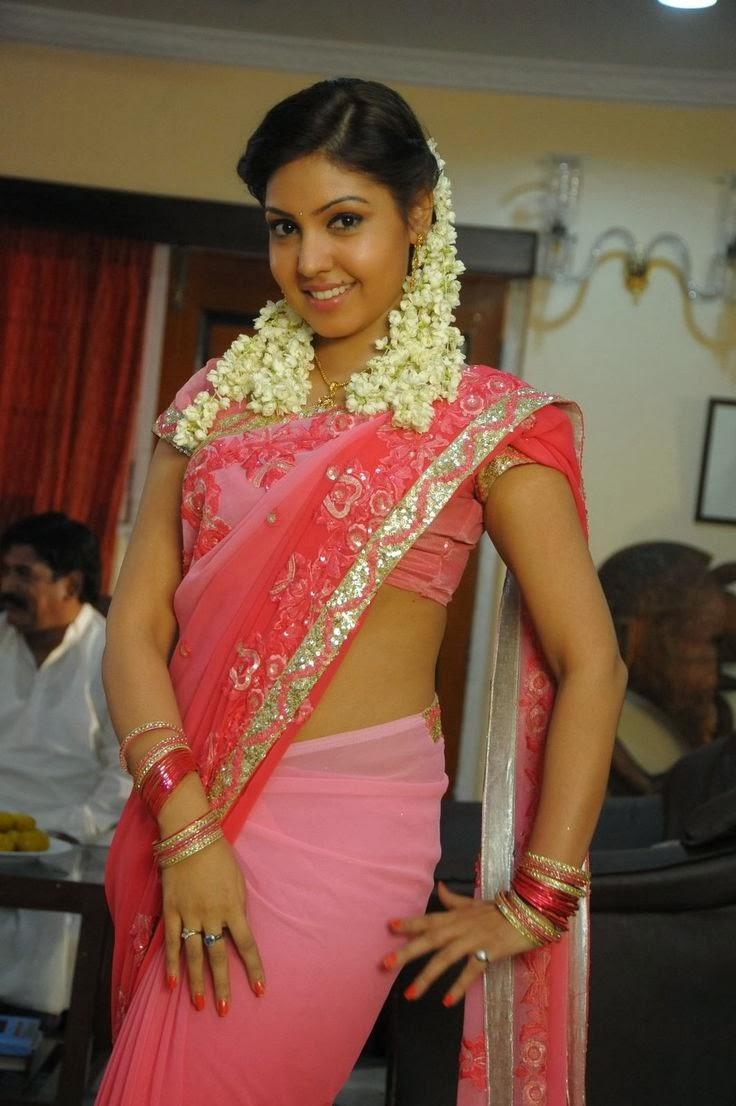 Komal jha saree beauty photos