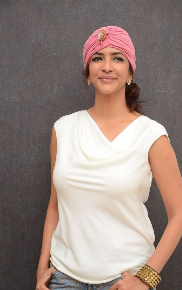 Lakshmi manchu white dress photos