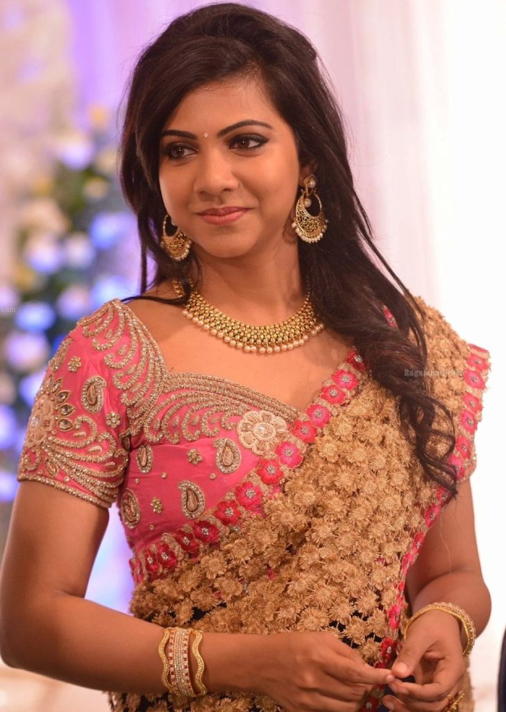 Madonna sebastian saree function photos