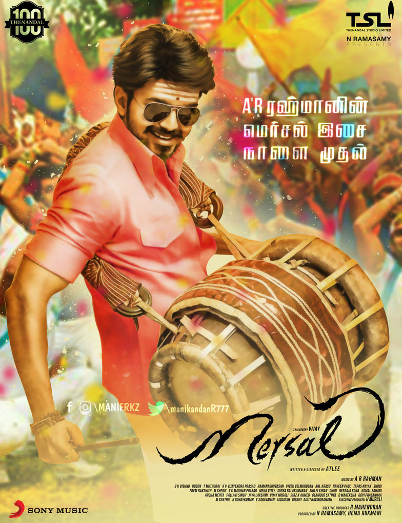 Mersal vijay hd pictures