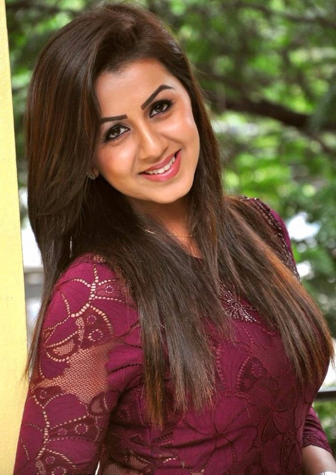 Nikki galrani red dress photoshoot stills
