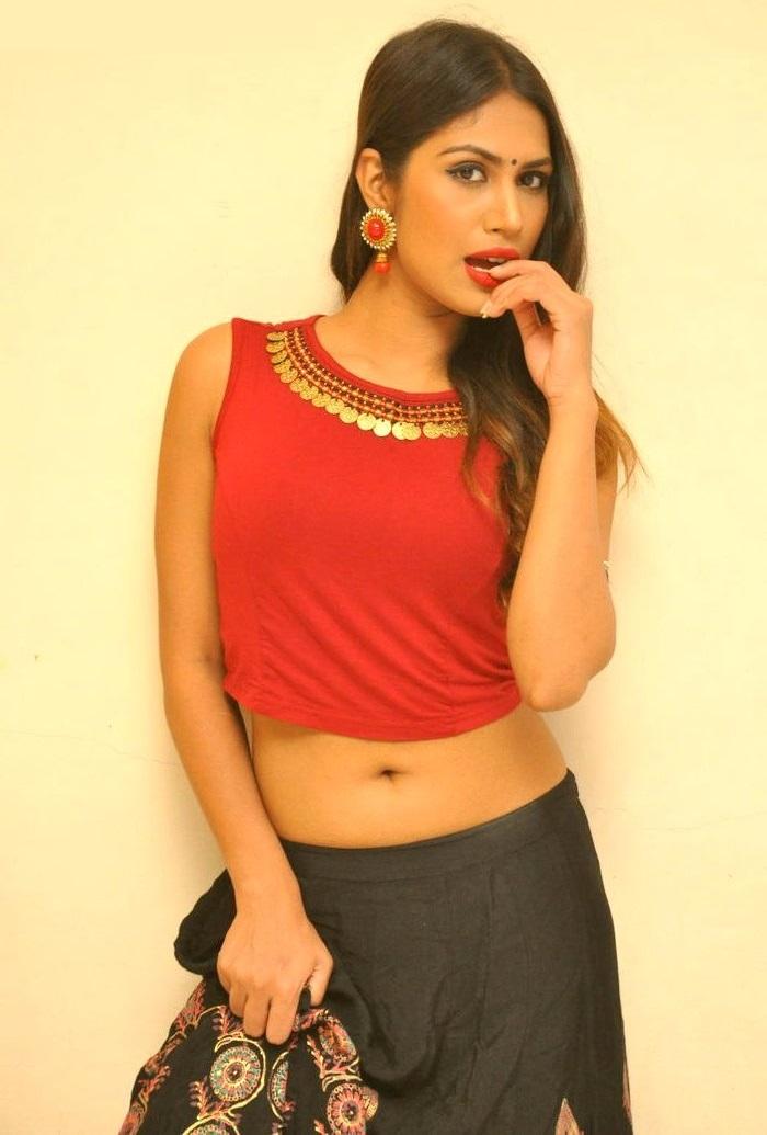 Nishigandha red dress exclusive photos