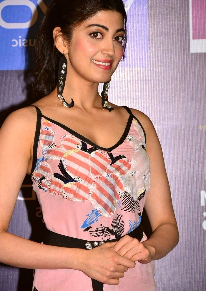 Pranitha subhash pink dress computer photos