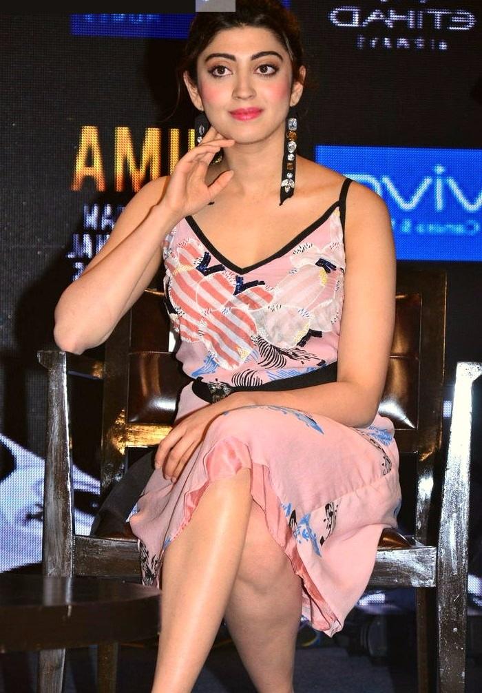 Pranitha subhash pink dress journal image