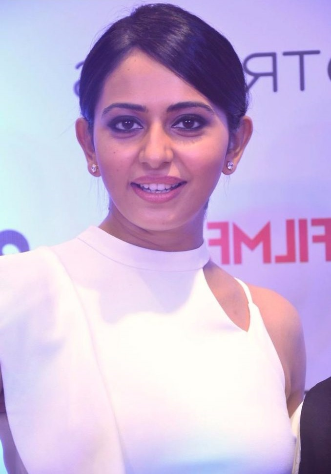 Rakul preet singh white dress fashion wallpaper