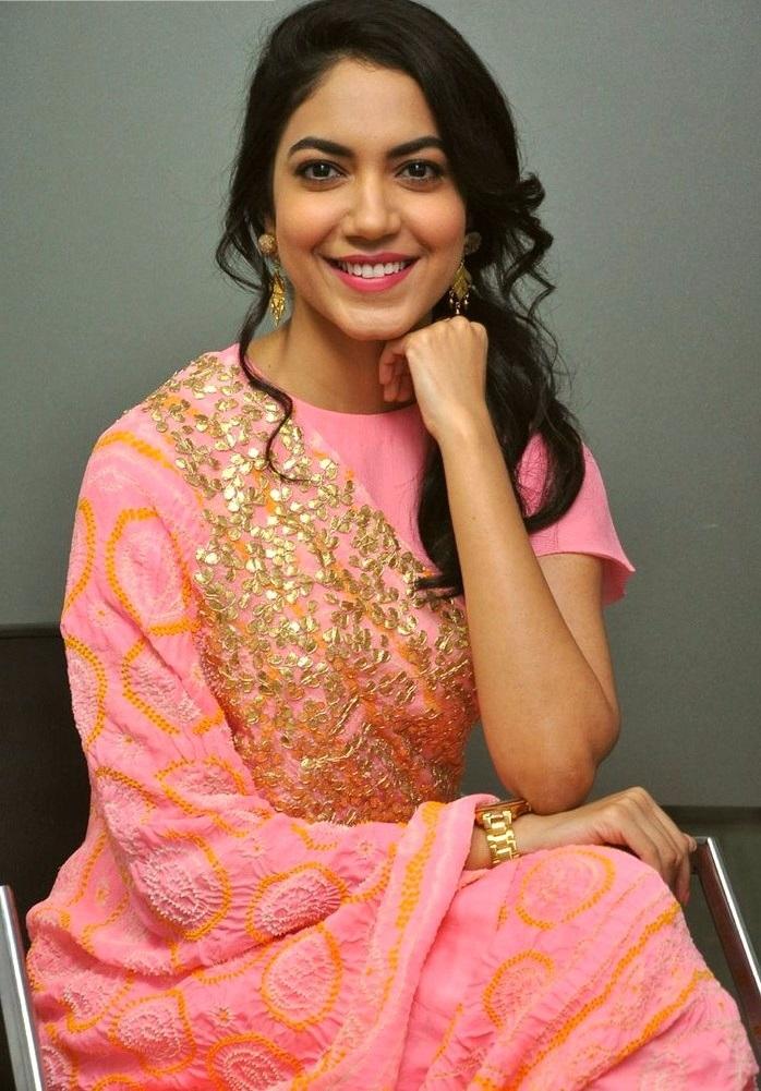 Ritu varma pink dress photoshoot photos