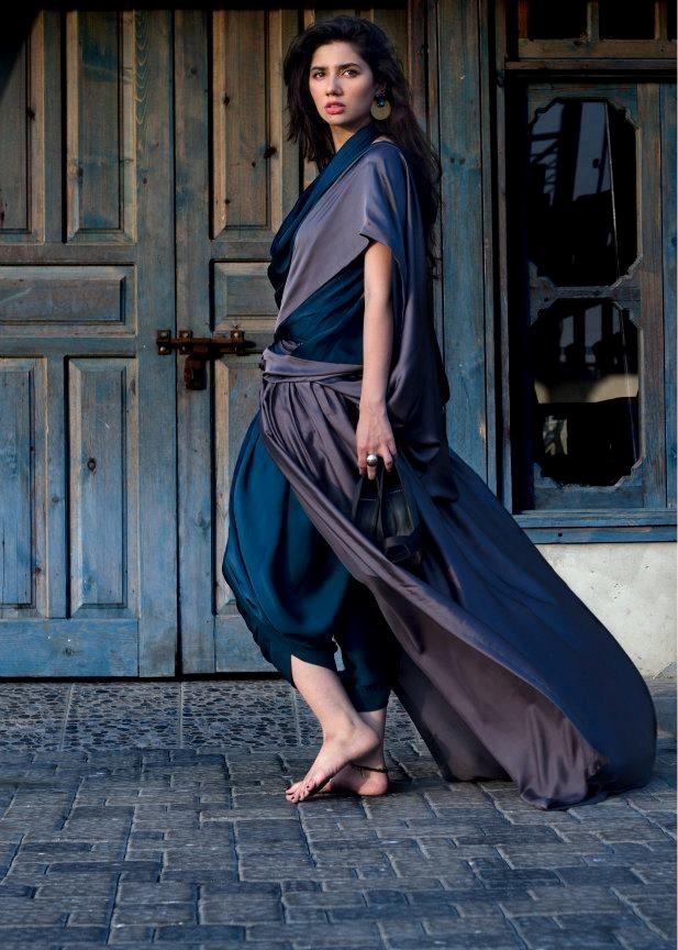 Mahira khan saree pictures