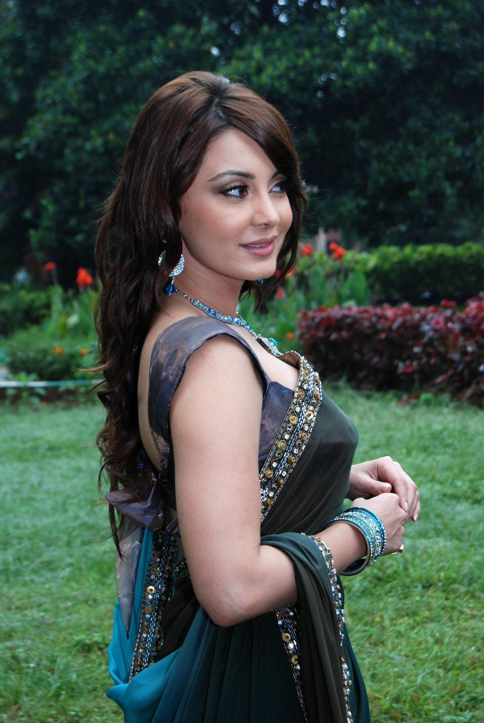 Minissha lamba saree photos