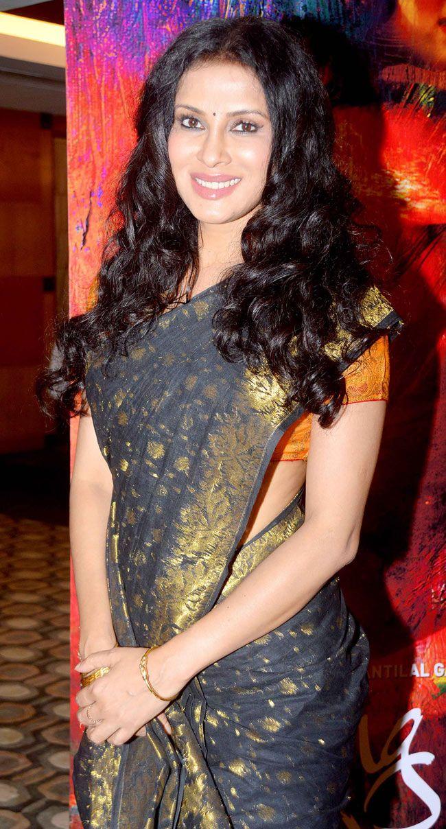 Nandana sen saree in function photos