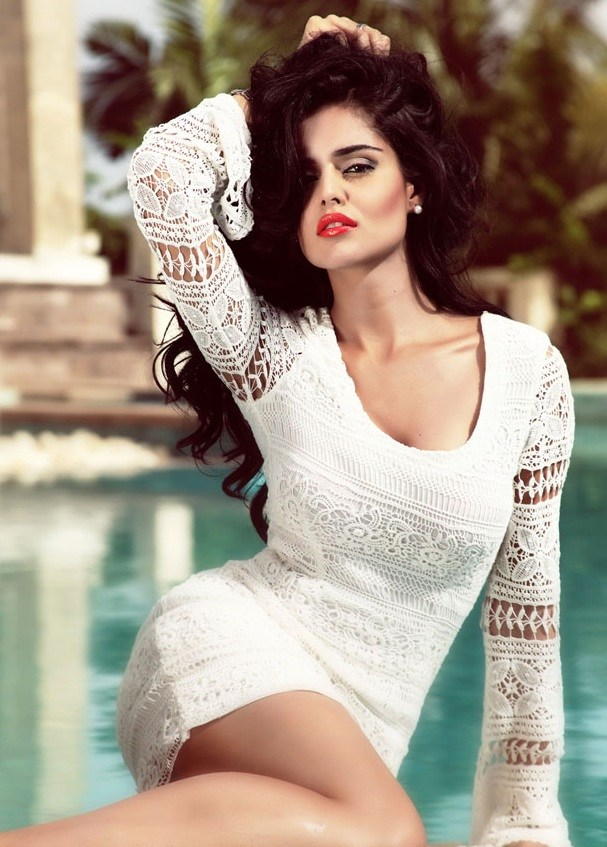 Nathalia kaur white dress photos