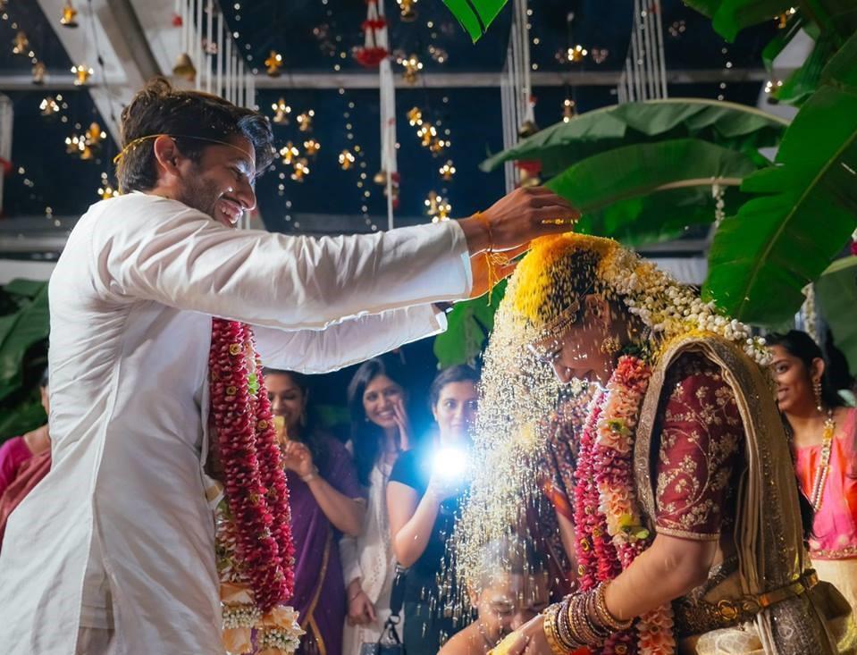 Actors naga chaitanya samantha marriage photos