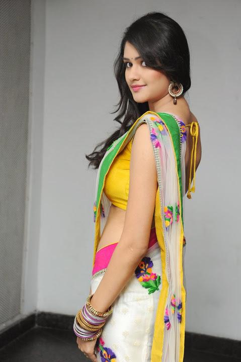 Actress kushi photoshoot saree fotos
