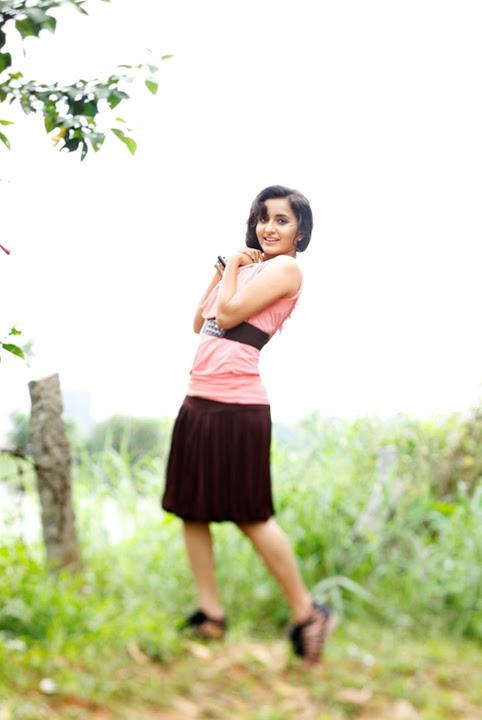 Bhama pink color dress hd photos