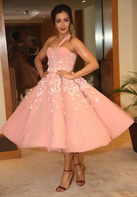 Catherine tresa hd pink dress glamour stills