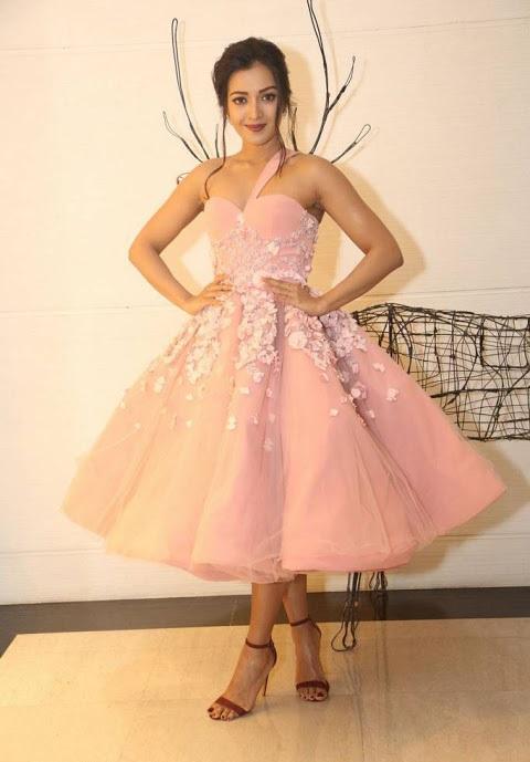 Catherine tresa hd pink dress smile pose fotos