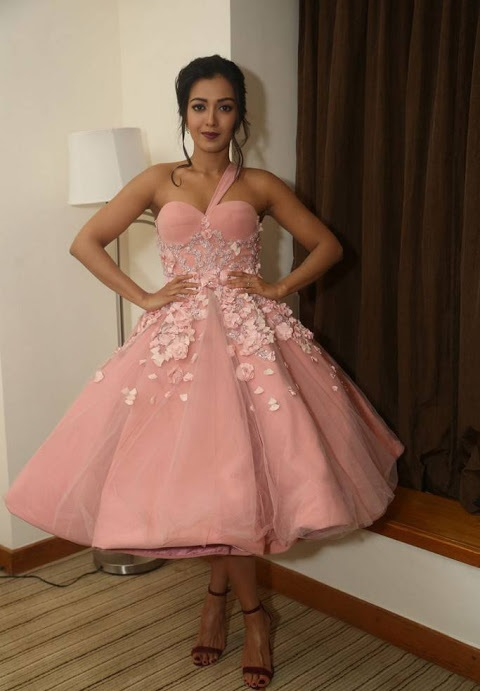 Catherine tresa hd pink dress stills