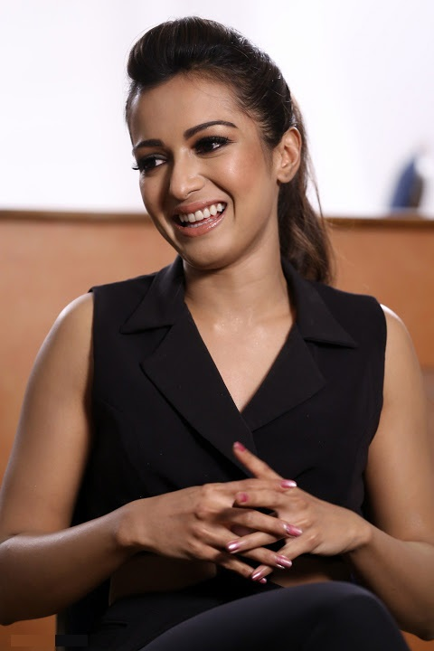 Catherine tresa interview black dress figure image