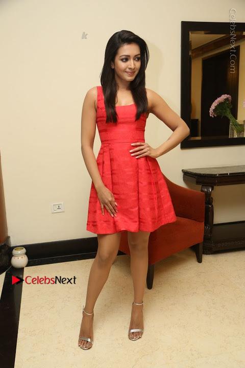 Catherine tresa red short dress fotos