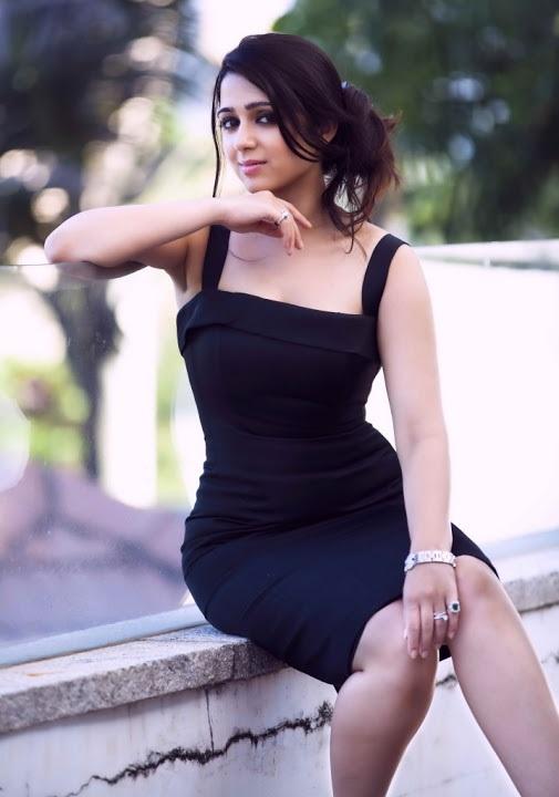 Charmi kaur black dress desktop pictures
