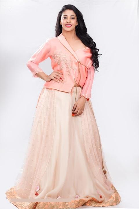 Daksha nagarkar pink dress cute pictures
