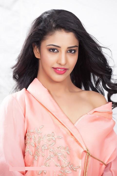 Daksha nagarkar pink dress figure wallpaper