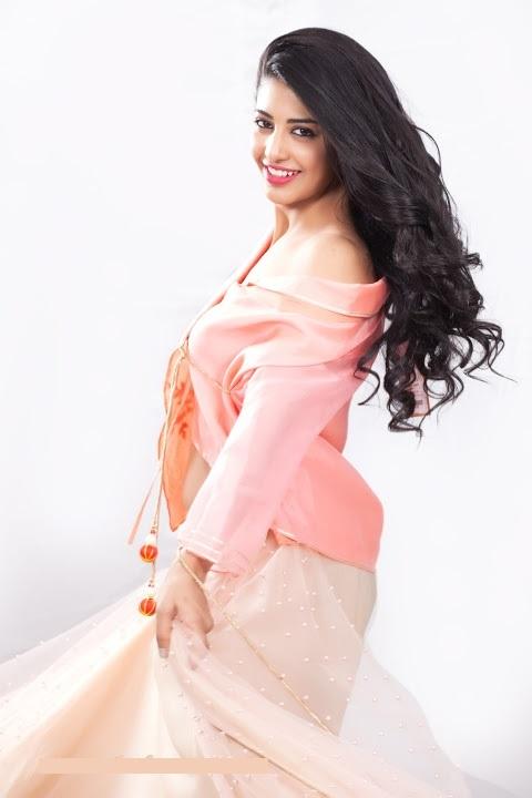 Daksha nagarkar pink dress hd stills
