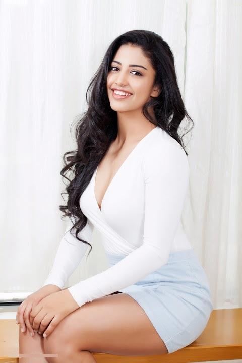 Daksha nagarkar white dress interview stills