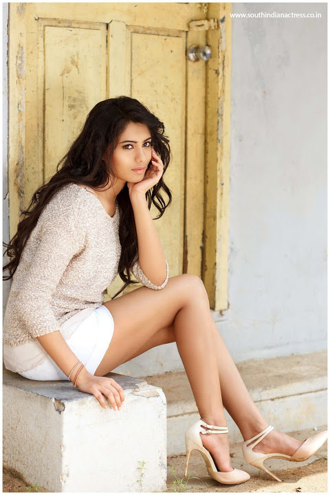 Deepa sannidhi white dress cute stills