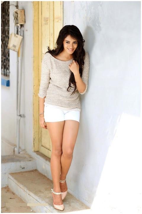 Deepa sannidhi white dress glamour gallery
