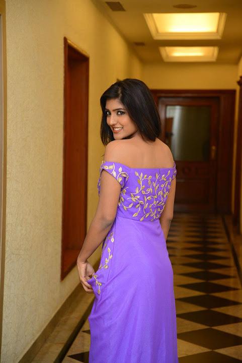 Eesha rebba purple dress exclusive computer pictures