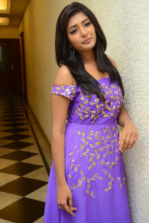 Eesha rebba purple dress exclusive cool photos