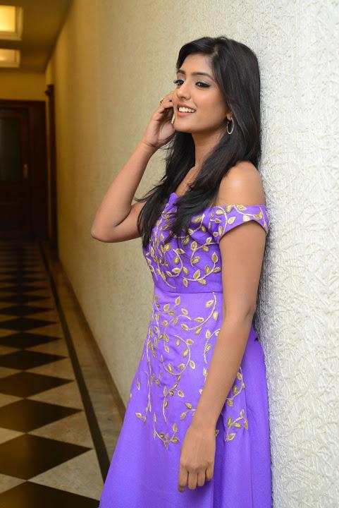 Eesha rebba purple dress exclusive fashion wallpaper
