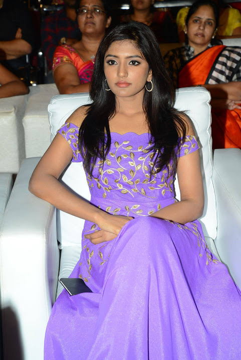 Eesha rebba purple dress exclusive glamorous stills