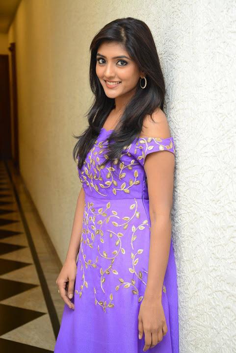 Eesha rebba purple dress exclusive hd pics