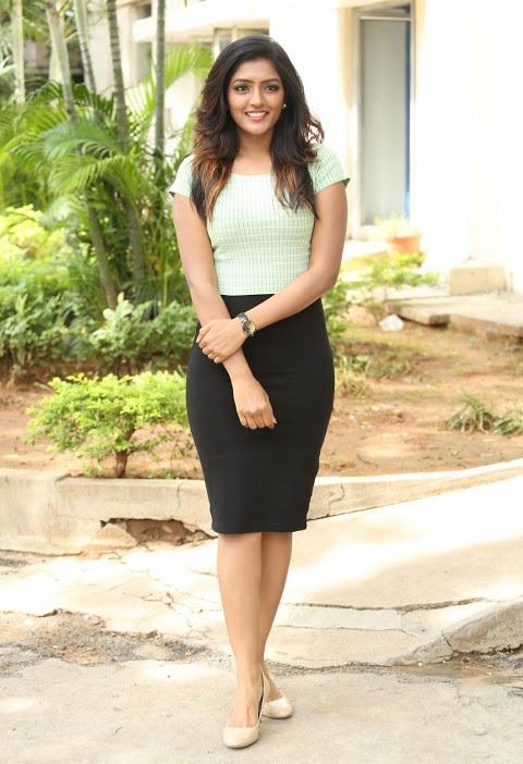 Eesha reeba light green dress exclusive image