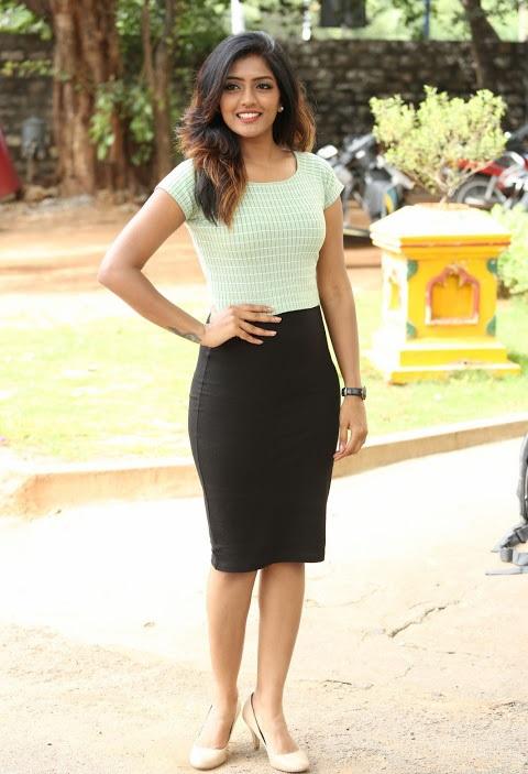 Eesha reeba light green dress fashion stills