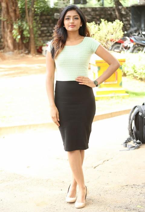 Eesha reeba light green dress modeling fotos
